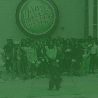 students on dave & buster's events